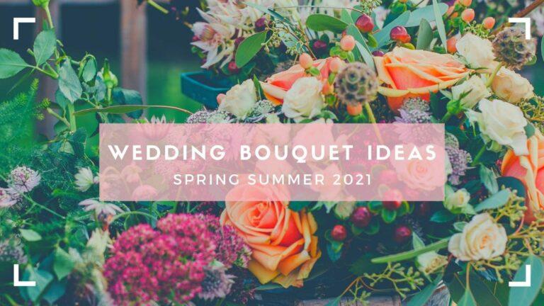Header for bridal bouquet 2021