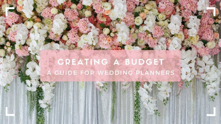 Header for Wedding Budgets a Guide for Planners