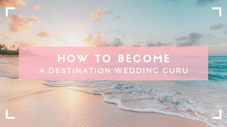 header for destination wedding planner blog