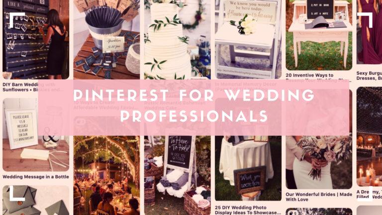 Wedding with Pinterest header