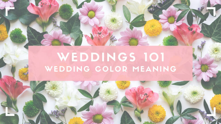 wedding color meaning