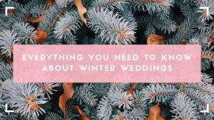 winter wedding blog header image